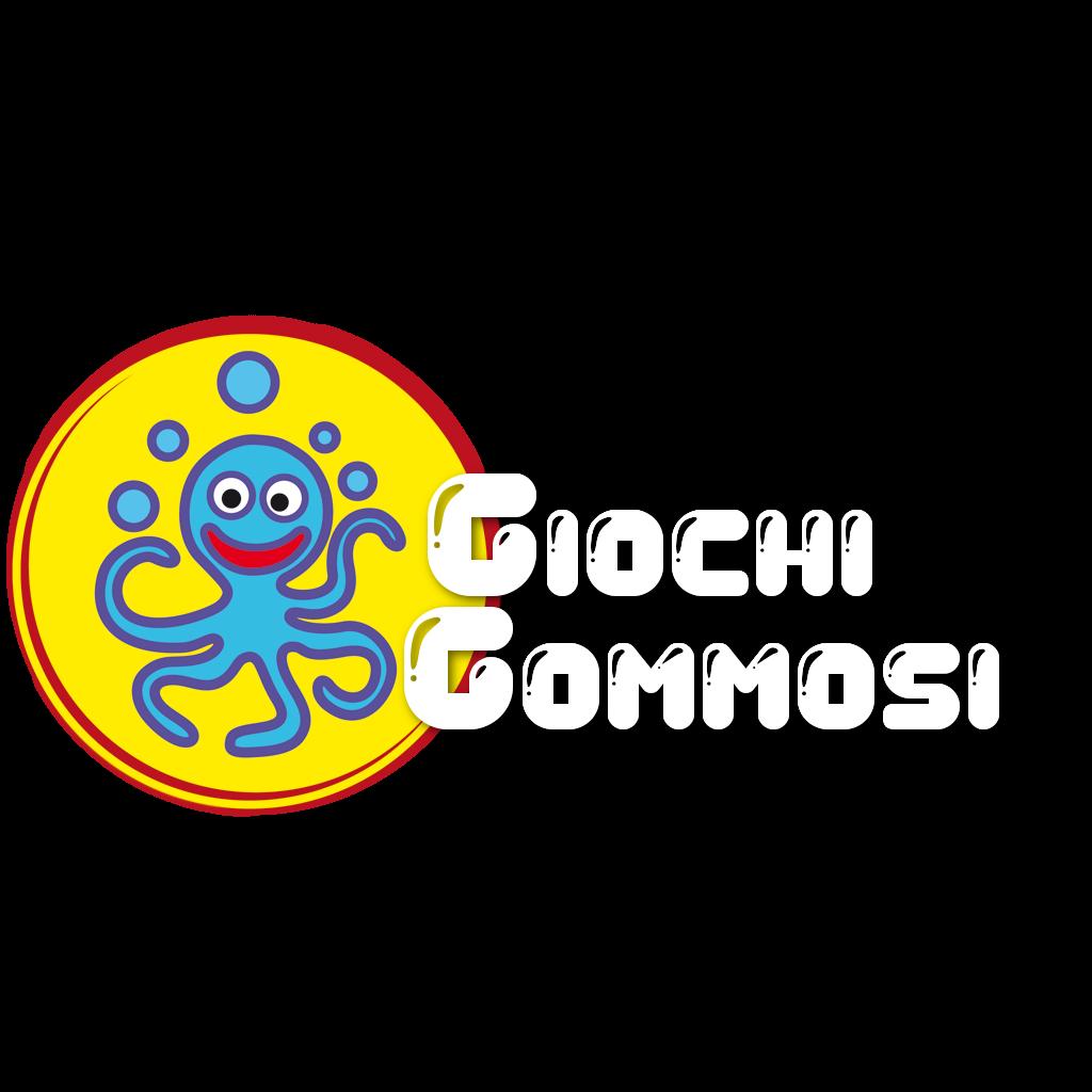 logo mobile giochigommosi noleggio giochi gonfiabili friuli provincia udine